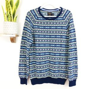 Urban Outfitters CPO Provisions Fair Isle Sweater